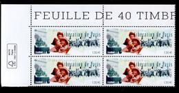 France 2019 - Neuf - Y&T N° 5341 Scanné Recto Verso - 75e Anniversaire De La Libération De Paris - Coin De Feuille - Unused Stamps