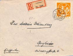 Allemagne Bayern 1920  Lettre De Landshut  (G0087) - Bavaria