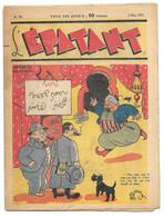 L'EPATANT Mars 1939 N° 79 - BD Intérieure Les Pieds Nickelés, Aventures De Charlot - Sin Clasificación