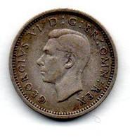 Grande Bretagne 3 Pence 1937  TTB - F. 3 Pence