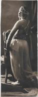 Romanian Circus Lady Artist 1920's A1587 - Geïdentificeerde Personen