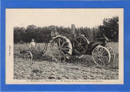 37 INDRE ET LOIRE - CRISSAY Monsieur Georget Conduisant Son Tracteur - Andere Gemeenten