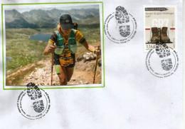 ANDORRA.Sentier De Grande Randonnée GR7 (Ballon D'Alsace Massif Des Vosges à Andorre-la-Vieille (Andorre). FDC 2020 - FDC