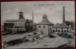 Carte Postale Ancienne- GUESNAIN- Fosse St René - Bergbau