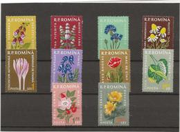 ROUMANIE - PLANTES MEDICINALES - SERIE 1652 A 1661 NEUF INFIME CHARNIERE - ANNEE 1959 - COTE : 15 € - Sin Clasificación