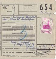 VRACHTBRIEF/ De / BORDEREAU D EXPEDITION De GISTEL (s/ TR 360) - 1952-....