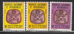 NOUVELLE CALEDONIE - Timbres De SERVICE N°34/6 ** (1983-84) - Service
