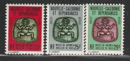 NOUVELLE CALEDONIE - Timbres De SERVICE N°31/33 ** (1980-82) - Service