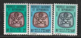 NOUVELLE CALEDONIE - Timbres De SERVICE N°38/40 ** (1986) - Service