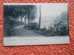 Cpa Watermael Watermaal Boitsfort Bosvoorde Vue Du Lac - Watermael-Boitsfort - Watermaal-Bosvoorde