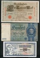 LOT DE 9 BILLETS D' ALLEMAGNE - AUTRICHE - BULGARIE - POLOGNE - RUSSIE - YUGOSLAVIE - Kilowaar - Bankbiljetten