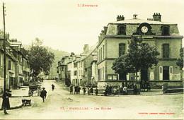 12010 -  Aveyron - MARCILLAC : LES ECOLES ET LES ENFANTS  -  BELLE ANIMATION - Autres Communes