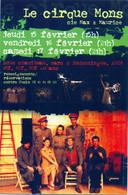 CC °_ Spectacle - 32 Auch - Le Cirque Mons - Années 90 - Zirkus
