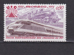 TIMBRES MONACO LOCOMOTIVES N° 879  *  PM - Unclassified