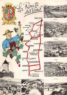 Fuissé St Amour Romanèche Fleurie Chiroubles Juliénas Villié-Morgon Mâcon La Route Des Vins Vin - Sonstige Gemeinden