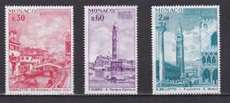 TIMBRES MONACO UNESCO VENISE N° 887 / 889  *  PM - Unclassified