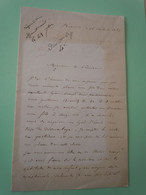 Lettre Autographe Baron Jérôme DAVID (1823-1882) DEPUTE De GIRONDE - Autografi