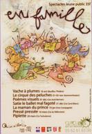 CC °_ Spectacle Jeune Public - 32 Auch - Centre Cuzin - En Famille - Programme 2001-2002 - Theater