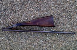 Ancien Fusil Carabine De Chasse Braconnier à Broche French Antic Poacher Shotgun St Etienne 14,0 Sorti De Grenier... XIX - Armes Neutralisées