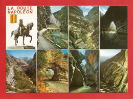 C.P.M. LA ROUTE NAPOLEON De La Côte D'Azur En Traversant Les Alpes Jolies Multi-Vues  Avec Diverses Animations  X 2pht. - Altri