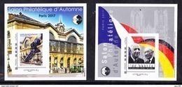 """#           Oo    Yvert CNEP N° 75 Et N° 76 - """"Salon D'automne PARIS 2017 - Neuf**  Luxe OO - CNEP"""