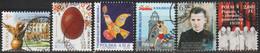 2019: Polen Mi.Nr. 5093,5097,5128,5144,5145+5163 Gest. / Pologne Y&T No. 4683,4687,4714,4726, ? + ? Obl.(d315) - Used Stamps