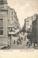 001628 - TURKEY - SALUT DE CONSTANTINOPLE - GRANDE RUE DE PERA - 1900s - Turkey