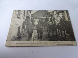 Arlon Visite Royale 10/9/1905 Le Roi Se Rendant à L'hôtel De Ville - Arlon