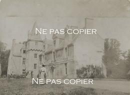 CHATEAU De MARZAN Vers 1900 Une élégante Morbihan Bretagne - Plaatsen