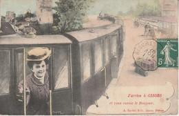 27 - GISORS -  J' Arrive à Gisors Et Vous Envoie Le Bonjour - Gisors