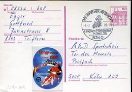 60217 Germany Special Postmark 1986 Pfarrkirchen Niederbay   Motor Racing,  Speedway, World Champ. - Motos