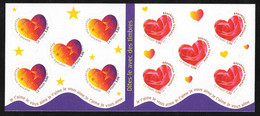 France: 1999  Self Adhesive Booklet / Carnet - Coeur MNH - Commemorrativi