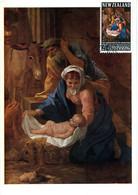 WELLINGTON 5 Février 68 Carte Maximum Noël Nativité Religion Christmas - Covers & Documents