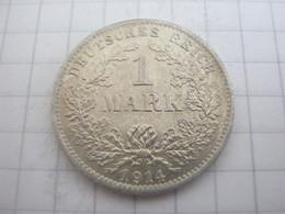 Germany 1 Mark 1914 D - 1 Mark