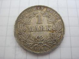 Germany 1 Mark 1914 J - 1 Mark