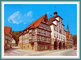 (638) Deutschland Baden Württemberg Calw Erholungsort Am Rathaus 1987 - Calw