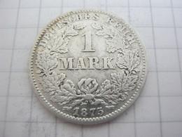 Germany 1 Mark 1875 C - 1 Mark