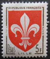 FRANCE Armoirie De Lille N°1186 Neuf ** - 1941-66 Coat Of Arms And Heraldry