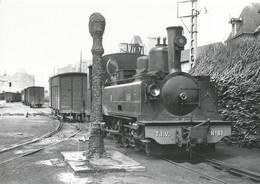 CPM - Collection BVA - Locomotive Corpet Louvet En Gare De Fougères - Fougeres