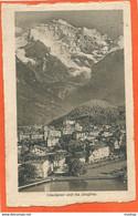 SU003, * INTERLAKEN Und Die JUNGFRAU * SENT  To DK 1912 - BE Berne