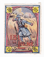 Vignette Militaire Delandre - 131ème Régiment D'infanterie - Military Heritage