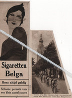 WIELERSPORT..1934.. GROTE PRIJS VAN DEURNE - ZUID DE HOOFDGROEP GELEID DOOR BOUTMANS SNELT DOOR HOOGSTRATEN - Non Classificati