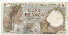 Billet De 100 Francs 1939, Type Sully - 100 F 1939-1942 ''Sully''