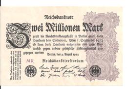 ALLEMAGNE 2 MILLION MARK 1923 XF+ P 104 - 2 Millionen Mark