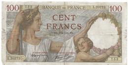 Billet De 100 Francs 1941, Type Sully - 100 F 1939-1942 ''Sully''