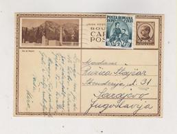 ROMANIA 1939 Postal Stationery  To Yugoslavia - Covers & Documents