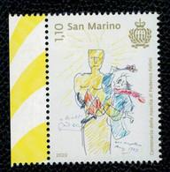 San Marino 2020 Centenario Della Nascita Di Federico Fellini 1v  Complete Set ** MNH - Ungebraucht
