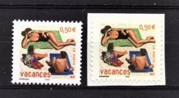 FRANCE 2003 - SERIE 2 TP  Y.T. N° 3577 ET 3578 - NEUFS** - Ongebruikt