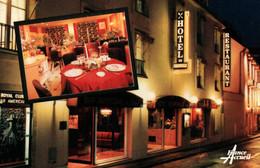 4324 Carte Postale  BAYEUX  Hôtel De BRUNVILLE  Restaurant  LA MARMITE  PUB Publicité           14 Calvados - Bayeux