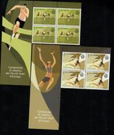 San Marino 2020 Campionati Di Atletica Dei Piccoli Stati D'Europa 4v In Quartina Con Bandella Complete Set ** MNH - Ungebraucht